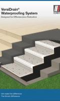 VersiDrain Waterproofing System