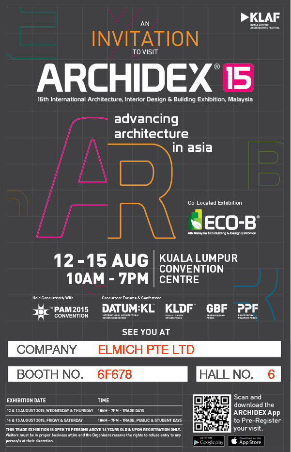 Archidex Invitation Artwork