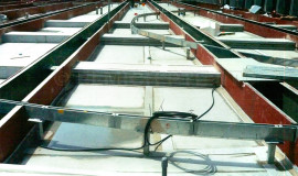 Planter boxes laid with EVALON®