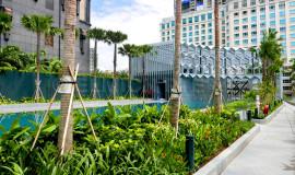DUO Residences waterproofed