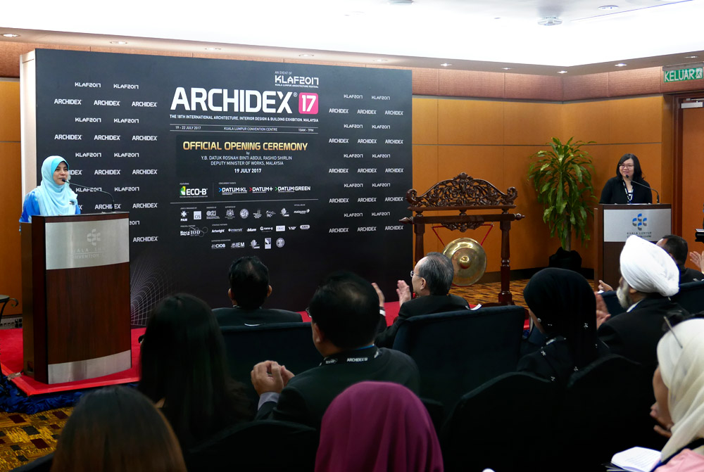 Opening Ceremony of ARCHIDEX 2017