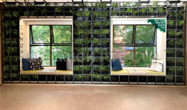 Installation of VGP LW Green Wall completed