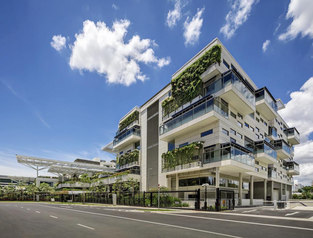 Photo of Australian International School. Photo from Bogle Architects