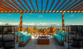 Breathtaking views atop the hotel (Source: Radisson Hotels)