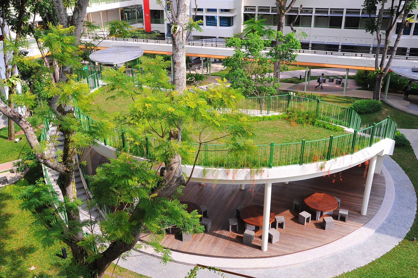 Elmich Green Roof And Rain Water Harvesting Singapore