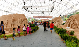 Large-scale Sand Exhibition