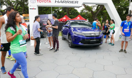 Temporary Car Exhibit During SCSM
