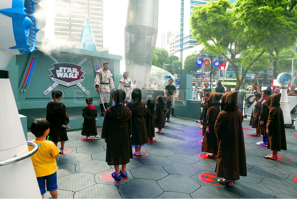 Star Wars Padawan Training